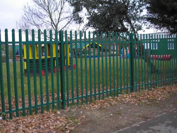 Palisade Fencing Contractors Birmingham West Midlands